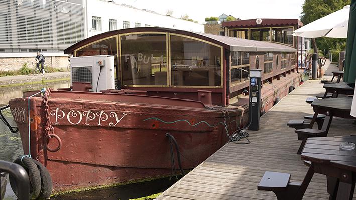 Holbourn Studios Office Barge