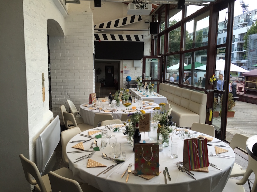 Wedding in the Commissary | Holborn Studios