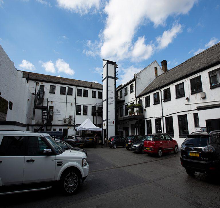Holborn Studios Courtyard